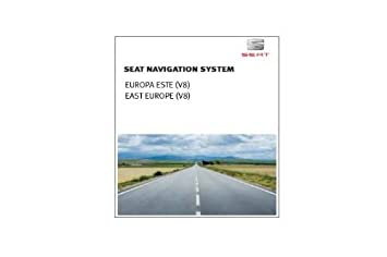 Seat Eastern Europe V8 for Media System 2 1 and 2 2 (RNS 315