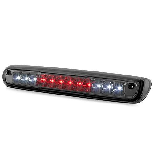 Xtune 2007-2013 Silverado, Sierra Smoked Lens LED 3rd Brake Light w/LED Cargo & Reverse 2008 2009 2010 2011 2012