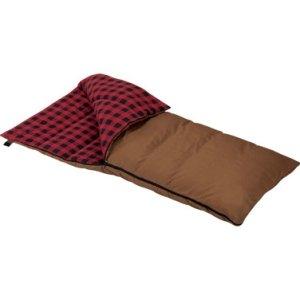 (49239 Grande Brown Rectangular Wenzel Sleeping Bag [Misc.]  DELETE