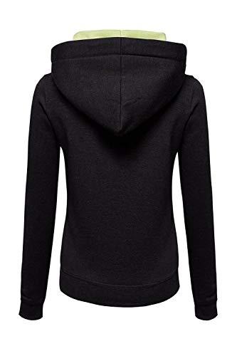 Outwear Sweatshirt Vosujotis Capuche Longue Full Femme Zip Noir À 7npqUzpT