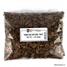 LD Carlson 6345B French Oak Chips - Medium Toast - 1 lb.