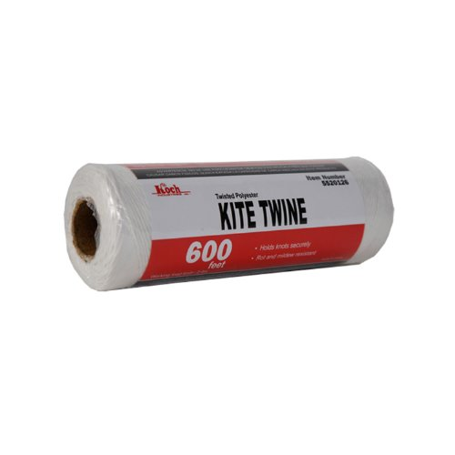 Koch Industries 5520126 Cotton Polypropylene Blend Kite Twine, 600-Feet, Natural