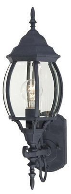 Westinghouse Outdoor Wall Lantern A19 19-1/4 In. Blk Box Bx