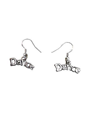 Sportybella Dance Charm Earrings, Dance Jewelry, for Dancers, Dance Recitals, Dance Teams & Dance Teachers