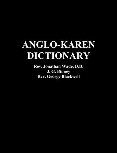 (Anglo-Karen Dictionary)