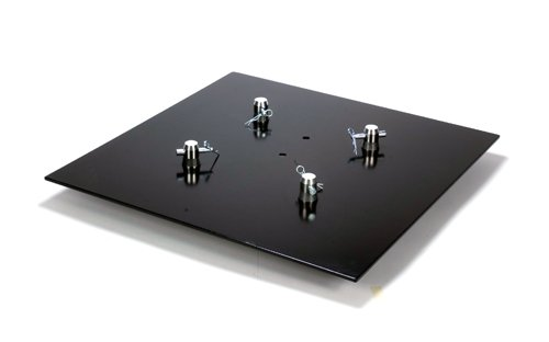 Global Truss Square Steel Lighting Trussing Base Plate 2X2S for F24, F33 and F34 by Global Truss