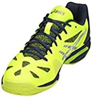 Asics Gel Lima Padel Amarillo E709Y 0749: Amazon.es ...