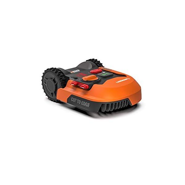 Worx-Tagliaerba-Robot-da-Giardino-Landroid-WR141E-Rasaerba-Elettrico-a-Batteria-20-V-Tosaerba-3-Lame-Mobili-Comando-Wi-Fi