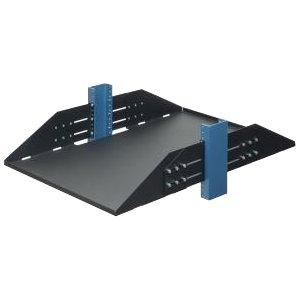 RackSolutions 3U Adjustable, 2 Post Rack Shelf - 29''