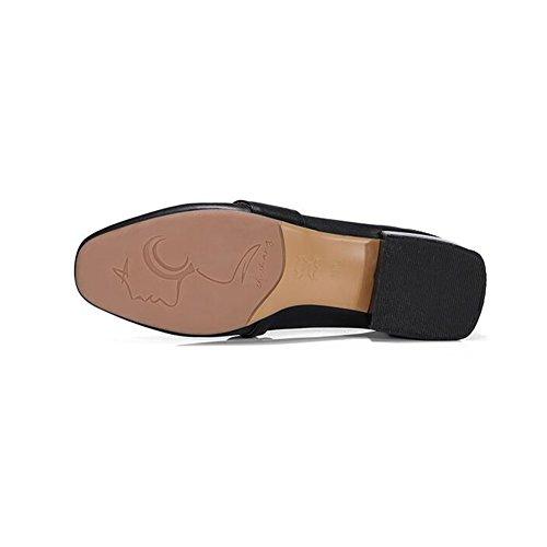 Dames Bouche Talons Taille CJC Femmes Profond Travail Couleur UK3 Bureau T3 Peu Chaussures EU35 Talon Élégant T1 Faible ERqqzp4xYn