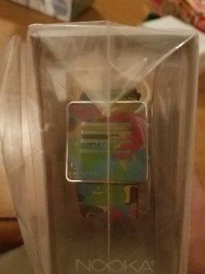 Collectible NOOKA ZenH Camo x multi color, new, in box rare