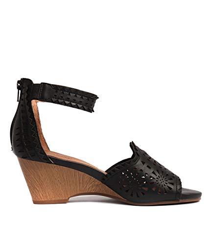 Sandals Black Leather Heels Shoes FERRARI Zoie Blush High DIANA Womens q0pZxw