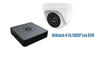 Hikvision hiwatch DVR 4 canales grabador de vídeo de la cámara con WiFi HDMI P2P Turbo
