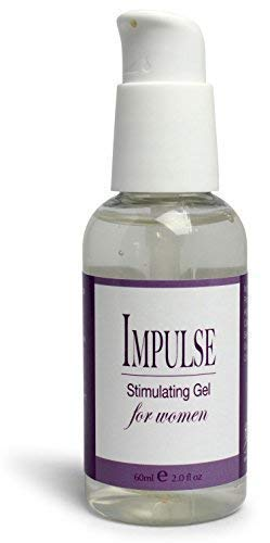 Impulse Intimate Sex Lubricant for Women, Water Based Arousal Lube by Healthy Vibes, 2 oz, Infused with Natural Plant Extracts & Menthol for Warming and Cooling Sensations - Paraben & Glycerin Free