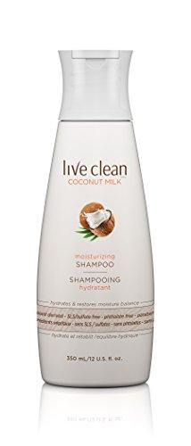 Live Clean Coconut Milk Moisturizing Shampoo, 12 Fluid Ounce