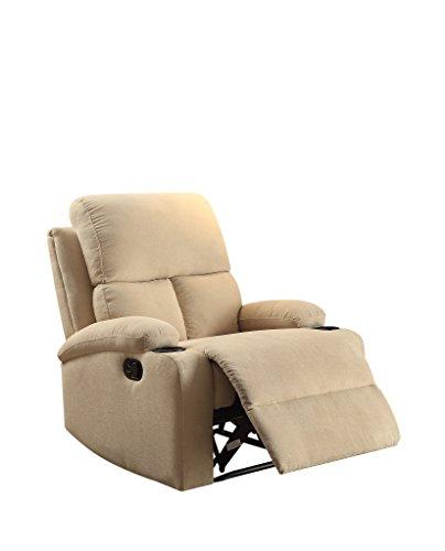 ACME Furniture 59551 Rosia Recliner, One Size, Beige