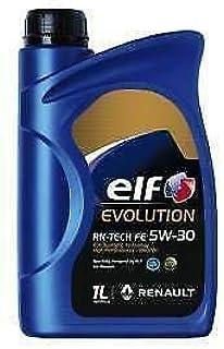 Aceite para motor de 11 Evolution RN-TECH ELITE 5W-30 5W30 C3 Renault RN17 - 1L 1 litro: Amazon.es: Coche y moto