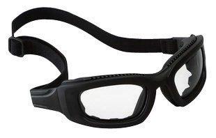 3M 40686-00000 2X2 Maxim Impact Goggles With Black Full Frame, Clear Anti-Fog Lens, Elastic Strap And Air Bladder Cushion (1/EA)
