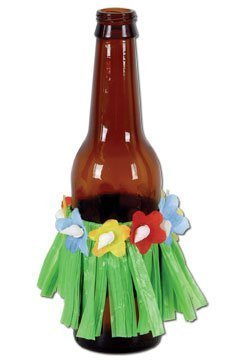 Drink Hula Skirts 3 1/2 Inch (1 Count) (4/pkg) Pkg/6 ()