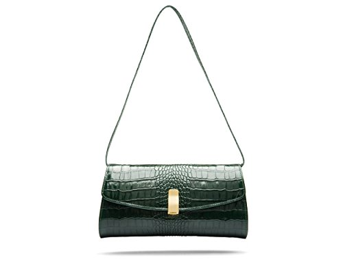 Green SageBrown Croc Bag Bag Green SageBrown Melanie Melanie xnwY1x7BZ