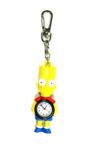 Bart Simpson Keychain Watch - Bart Simpson Keychain Clock