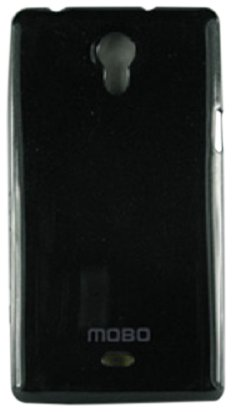 MOBO Cell Phone Case for Sony Xperia Miro - Retail Packaging - Black