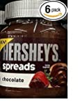 Hershey's Spreads in Chocolate Flavor, 13-Ounce Jar (Pack of 6)