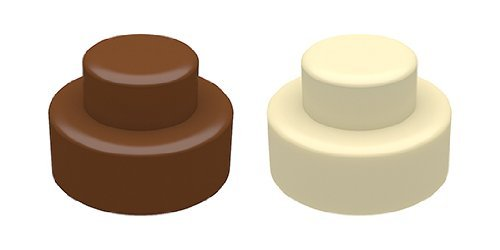SpinningLeaf Standad Cake Sandwich Cookie Mold (Mini Oreo Cookie Molds)