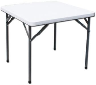 Tavoli Pieghevoli Plastica Per Catering.Tavolo Catering Quadrato 87x87x74cm Pieghevole In Polietilene Hdpe