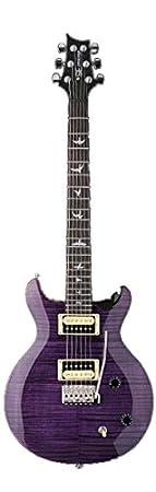 PRS SE Carlos Santana firma guitarra eléctrica Bundle con se funda de, morado: Amazon.es: Instrumentos musicales