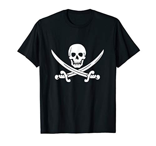 Cool Pirate and Sabres T-Shirt Gift Men, Women, Boy, Girl]()
