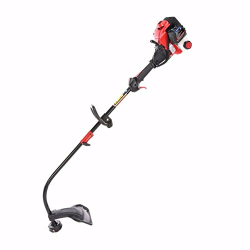 Troy-Bilt 25-cc 2-Cycle 17-in Curved Shaft Gas String Trimmer and Edger