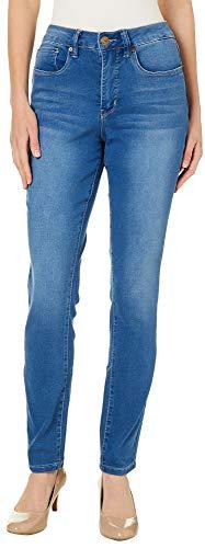 Royalty by YMI Womens No Muffin Top Stretch Denim Jeans 8 Medium wash