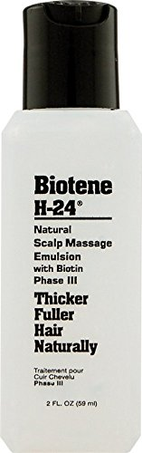Mill Creek Botanicals Biotene H-24 Emulsion for Thicker Fuller Hair Naturally -
