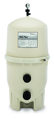 Pentair 180009 FNS Plus Fiberglass Reinforced Polypropylene Material, Vertical Grid, D.E. Pool Filter, 60 Square Feet, 120 GPM (Grid Vertical)