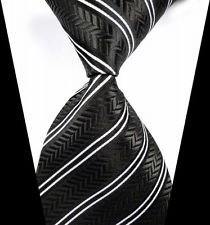 jacob-alex-38812-Classic-Necktie-Mens-Elegant-Striped-Ties-WOVEN-JACQUARD-Silk-Mens-Suits-Tie