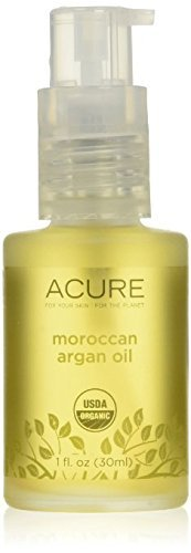 Acure Organics - The Essentials Moroccan Argan Oil, Organic Facial Oil for Dry, Sensitive Skin - 1 oz (2 Pack) by Acure Organics