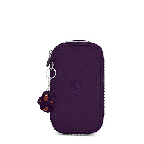 Kipling 50 Pens Case Deep Purple
