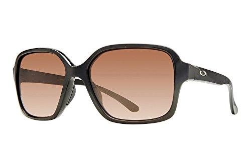 Oakley Women's Proxy Square Sunglasses, Polished Black, 54.01 - Retro Goggles Oakley