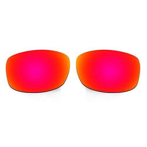 Hkuco Mens Replacement Lenses For Costa Zane Sunglasses Red/Titanium
