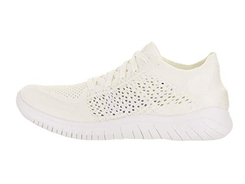 White Compétition Femme Free Noir Chaussures de Nike 103 Laufschuh 2018 White Blanc Run Running Flyknit pqz7x8B