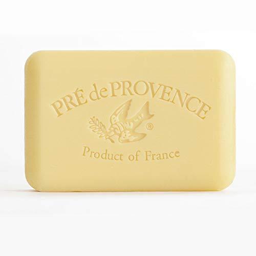 Pre De Provence Artisanal French Soap Bar Enriched With Shea Butter, Sweet Lemon, 250 Gram