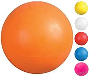 Joe's USA Lacrosse Balls - All Colors (also used for Back Massage Ball Therapy) (Orange, 1)