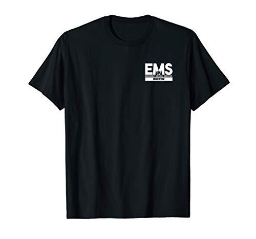 Boston Massachusetts EMS Paramedic EMT Uniform T-Shirt