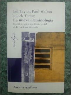 Book La nueva criminología 3era. Ed.