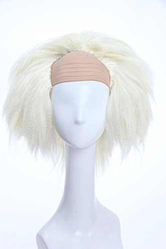 Soul Wigs: Halloween Wig Short Clown Wigs Cosplay Wig for Men and Women Multiply Colors