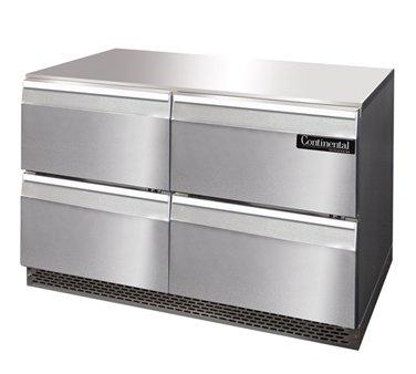 "Continental Designer Work Top Refrigerator 42"" UCF48-D"