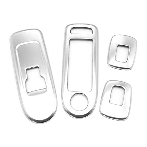 Zhuzhu Door Window Lifter Protection Chrome Trim Cover Strip Fit for Peugeot 508 Citroen C5 Accessories