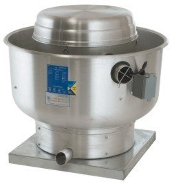VXB24 Belt Drive Centrifugal Upblast Exhaust Fan with 24