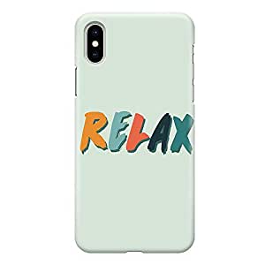 Loud Universe Phone Case For iPhone XS Wrap around Edges Relax Phone Case Weekend Phone Case Vacation iPhone XS Cover